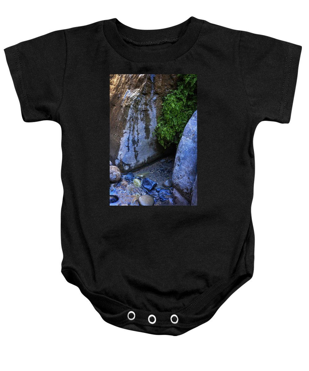 Water Baby Onesie featuring the photograph Wet Environments 1 by Marilyn Hunt