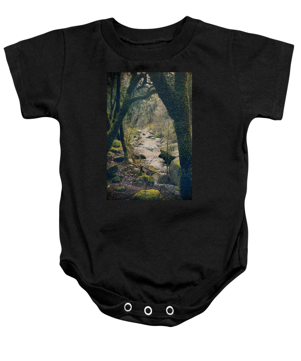 Whiskeytown National Park Baby Onesie featuring the photograph What We Could've Had by Laurie Search