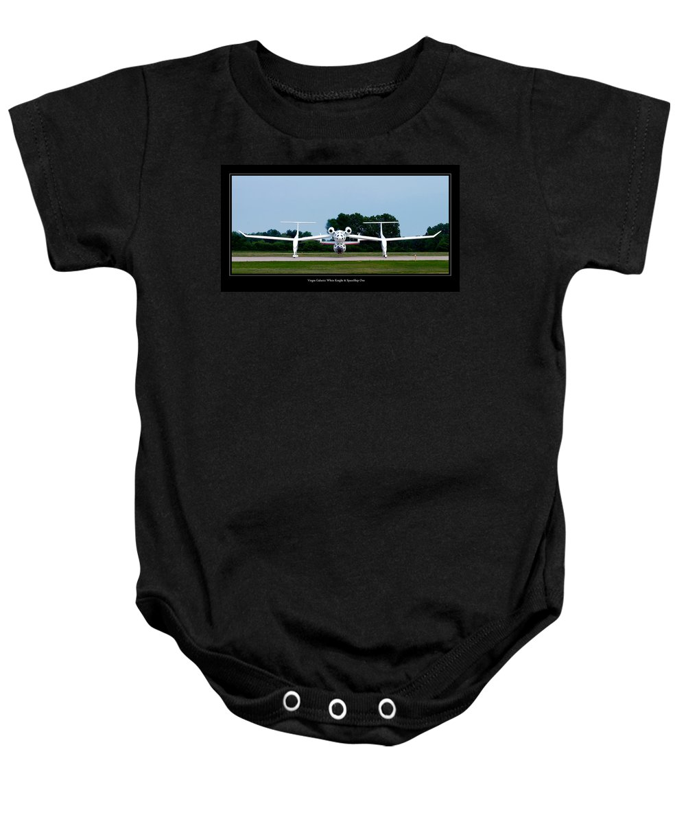 3scape Baby Onesie featuring the photograph White Knight by Adam Romanowicz