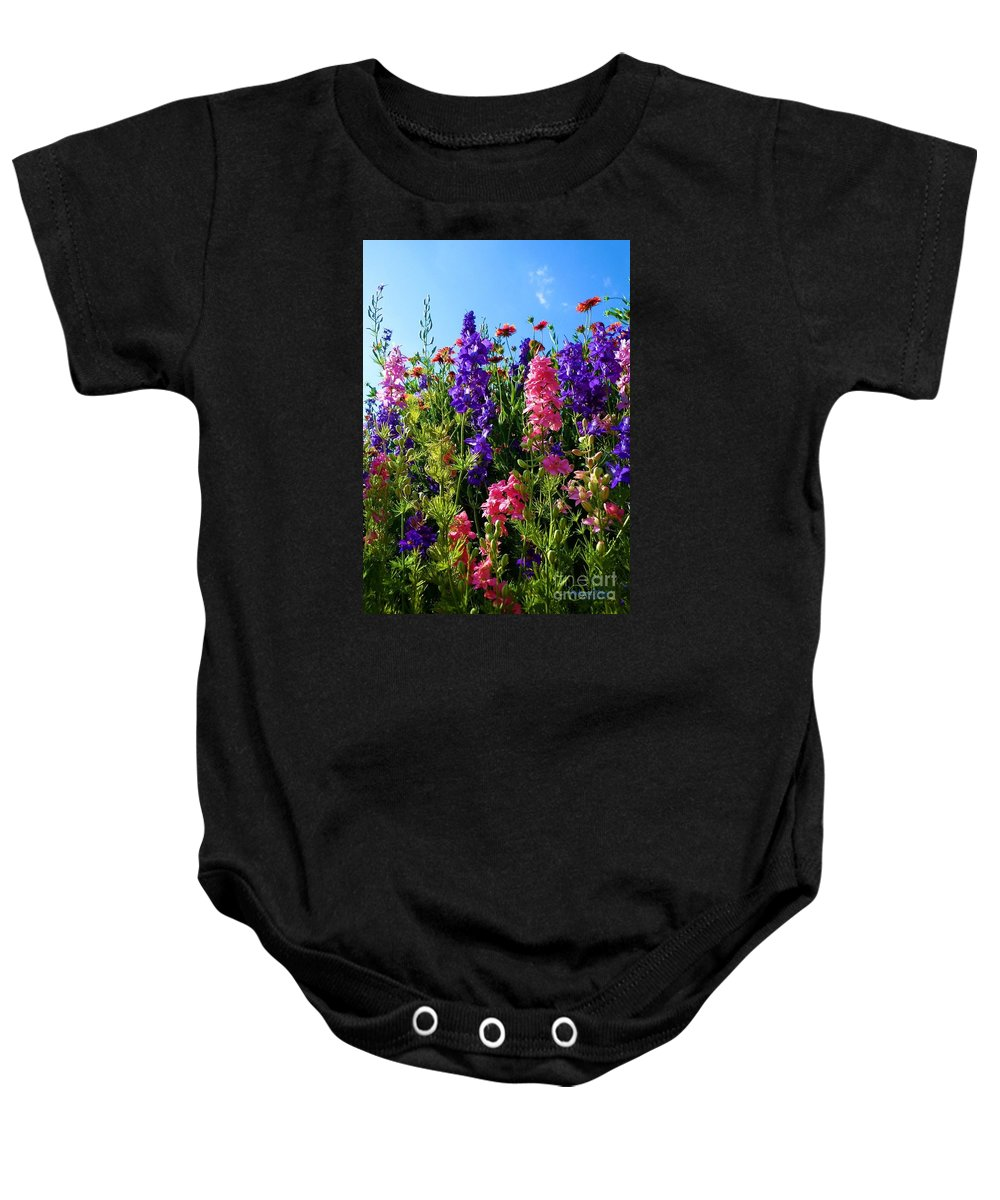 Wildflowers Baby Onesie featuring the photograph Wildflowers #14 by Robert ONeil
