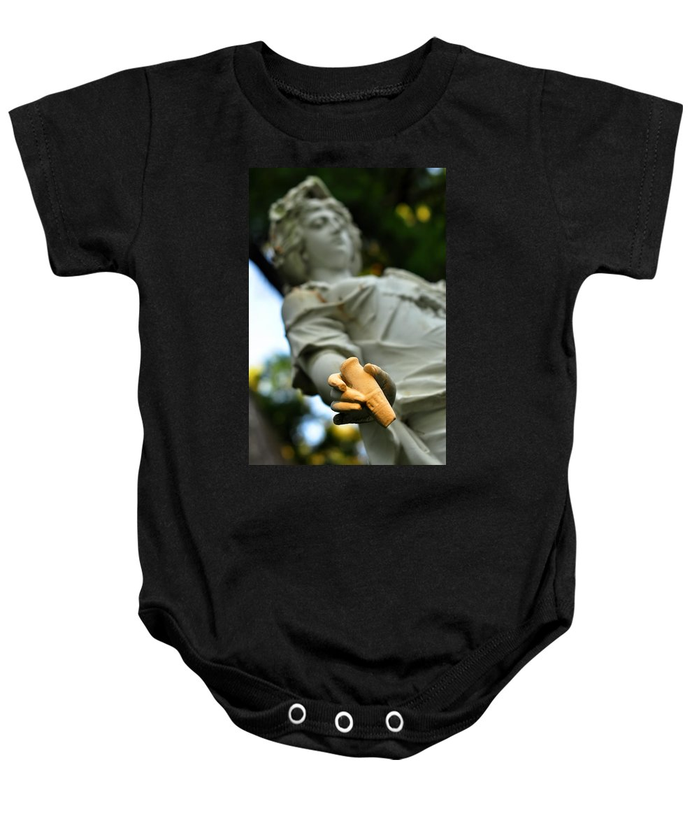 Landscape Baby Onesie featuring the photograph Yaddo Season 1 by Tina Baxter