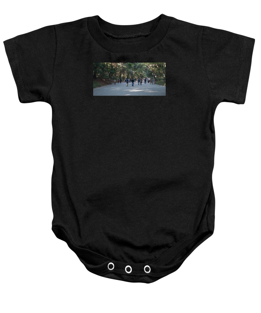 Japan Baby Onesie featuring the photograph Yoyogi Park by Jill Mitchell