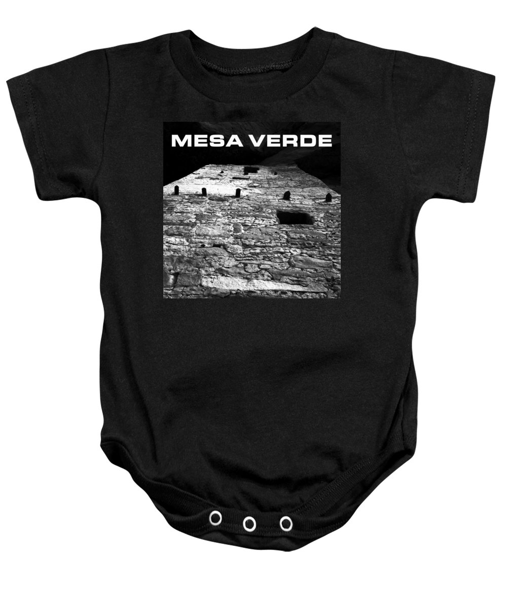 Fine Art Photography Baby Onesie featuring the photograph Anasazi Home by David Lee Thompson