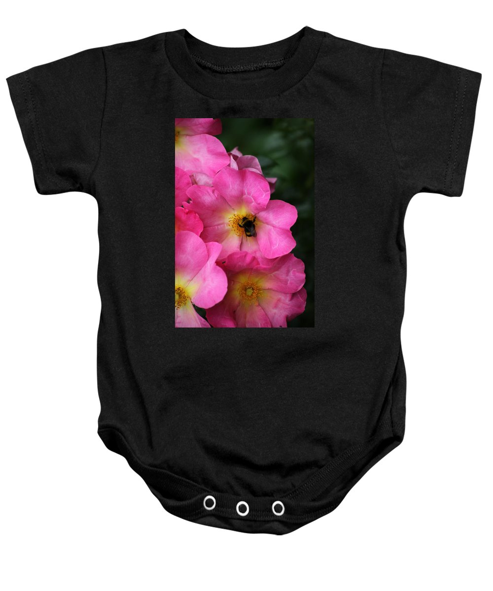 Flower Baby Onesie featuring the photograph Floral 0017 by Carol Ann Thomas