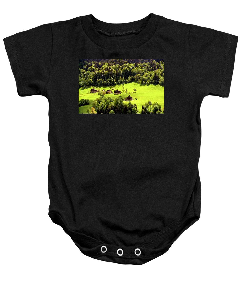 Landscapes Baby Onesie featuring the photograph Mountains by Olivier De Rycke