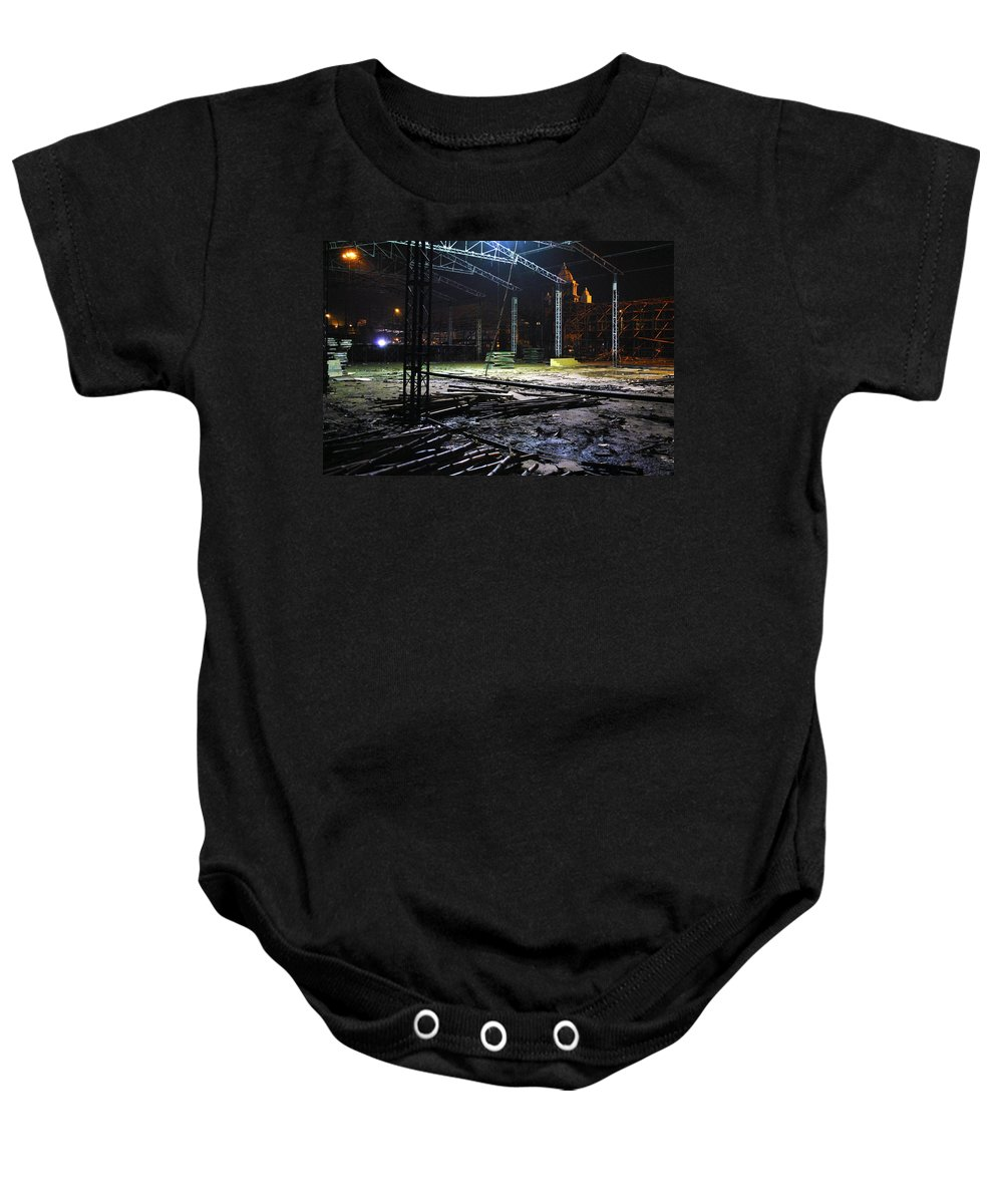 Carnival Baby Onesie featuring the photograph Preparation Of A Carnival by Sumit Mehndiratta
