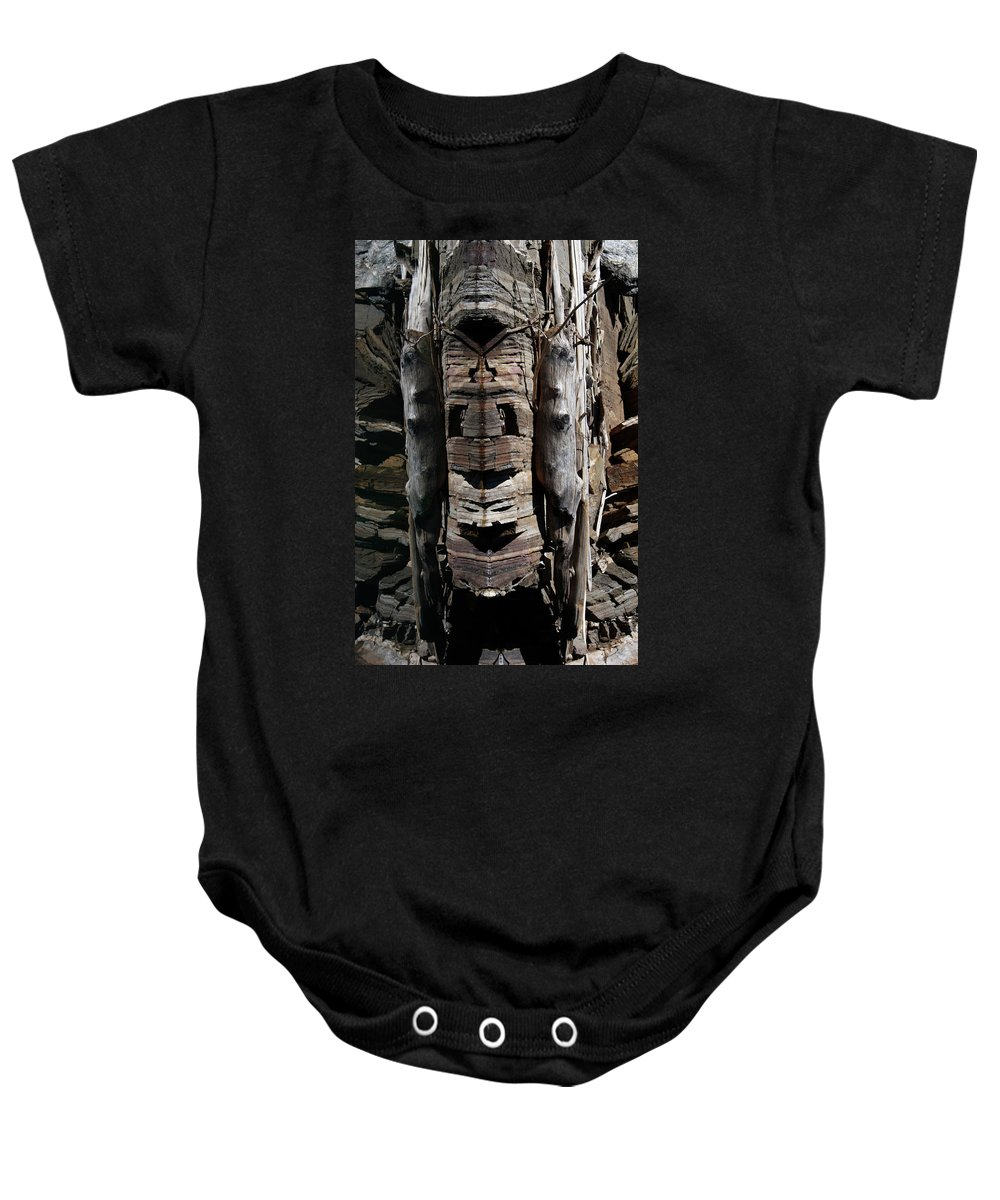 Reflection Baby Onesie featuring the photograph Spirit Of The Duncan by Cathie Douglas