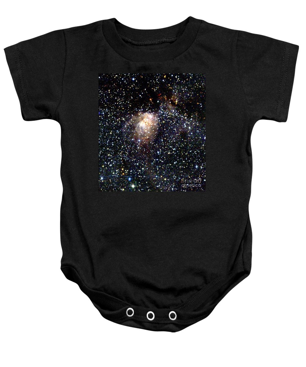 2mass Imagery Baby Onesie featuring the photograph Star Forming Region 1 by 2MASS project / NASA
