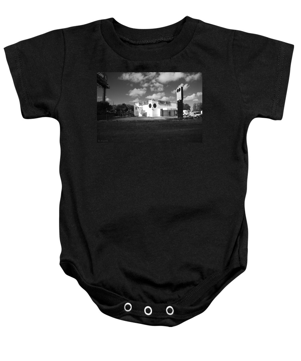 Rat Baby Onesie featuring the photograph Truly Nolen by Rob Hans