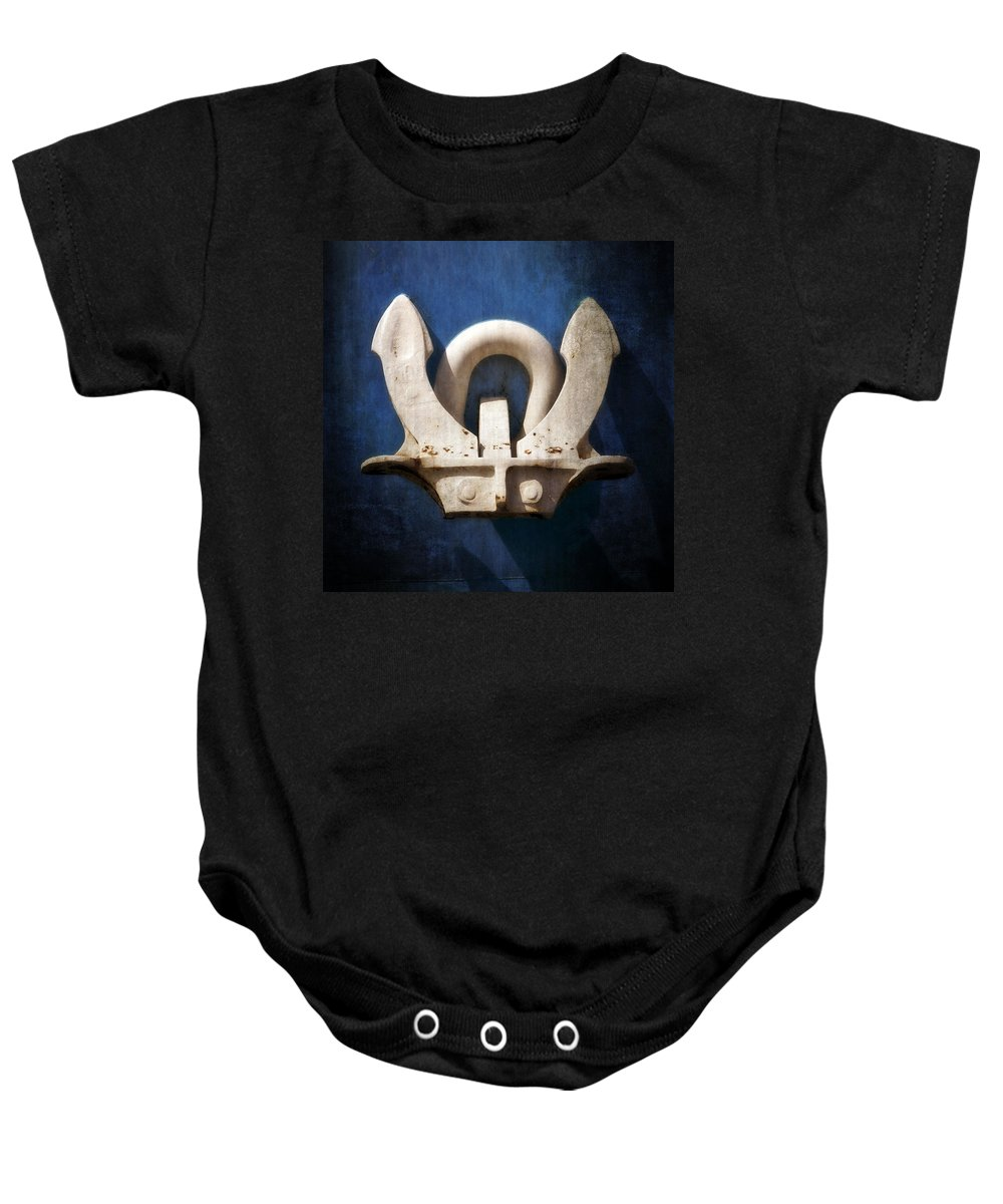 Anchor Baby Onesie featuring the photograph Anchor by Joana Kruse