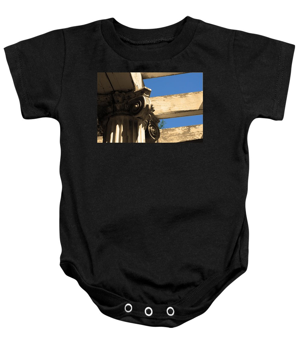 Saratoga Ny Baby Onesie featuring the photograph Misc 0007 by Carol Ann Thomas