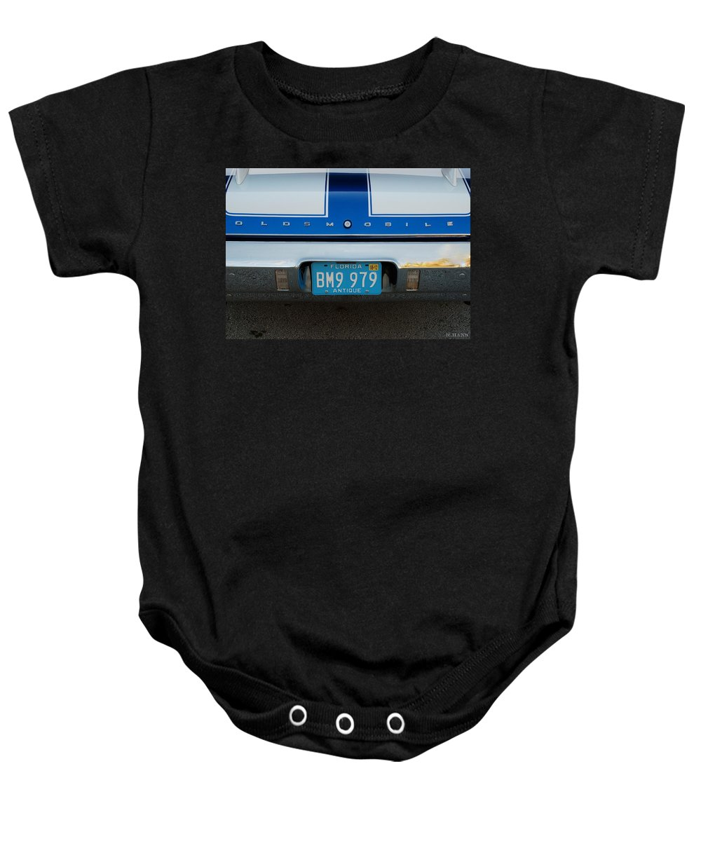 Oldsmobile Baby Onesie featuring the photograph Olds C S by Rob Hans