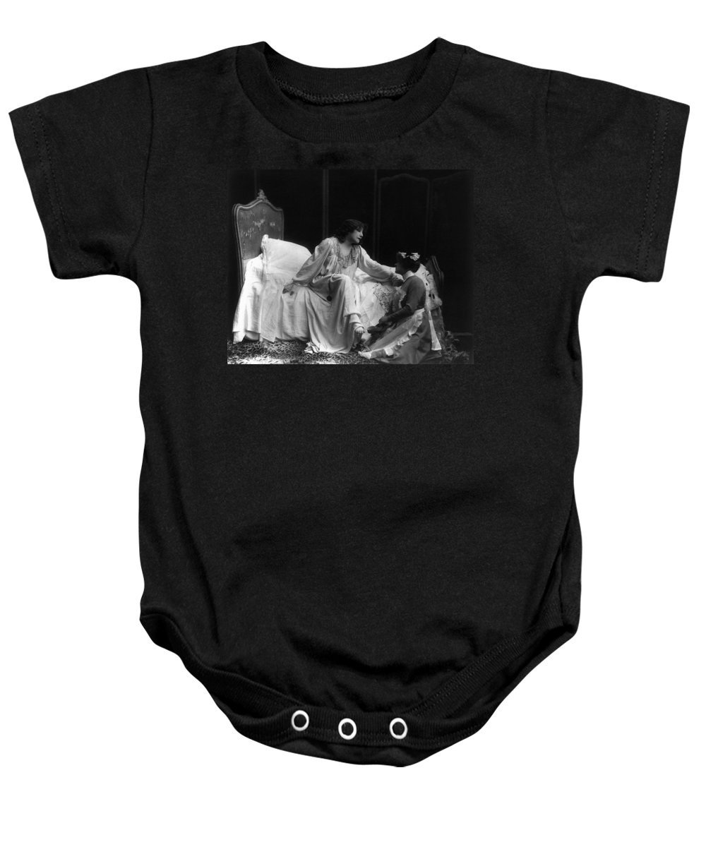 1885 Baby Onesie featuring the photograph Sarah Bernhardt (1844-1923) by Granger