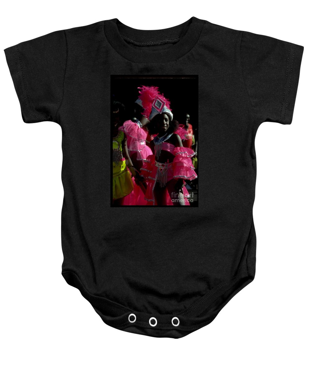 Parades Baby Onesie featuring the photograph West Indian Day Parade Brooklyn Ny by Mark Gilman