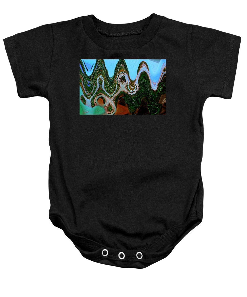 Colette Baby Onesie featuring the photograph A Play With Colors by Colette V Hera Guggenheim