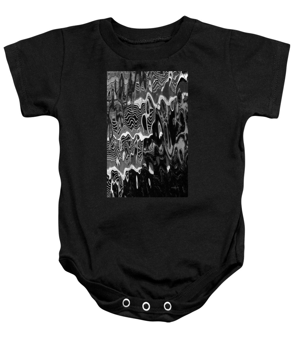 An Abstract Baby Onesie featuring the photograph Abstract 13b by Xueling Zou