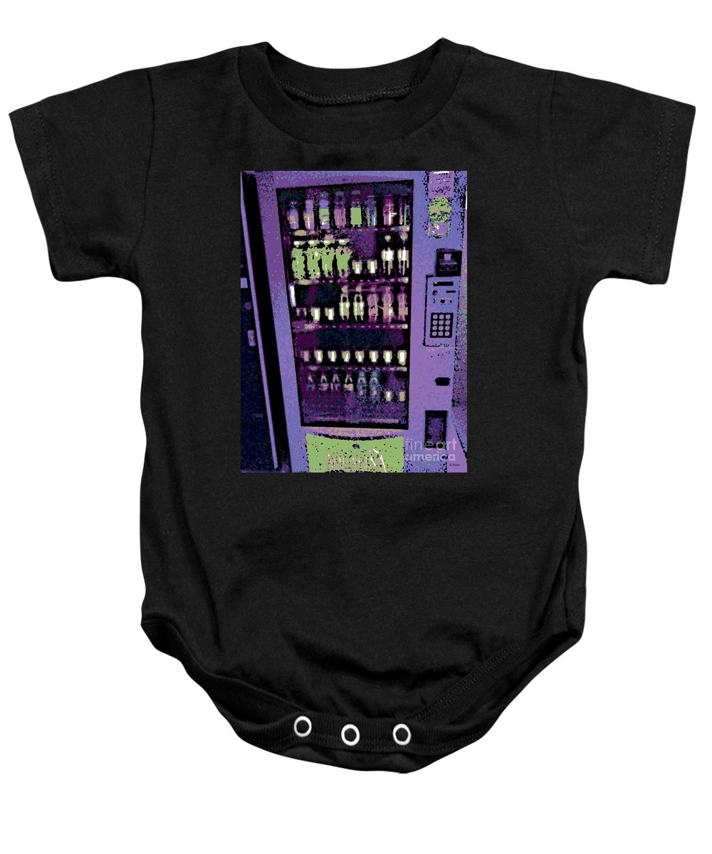Soda Baby Onesie featuring the photograph Addiction by George Pedro
