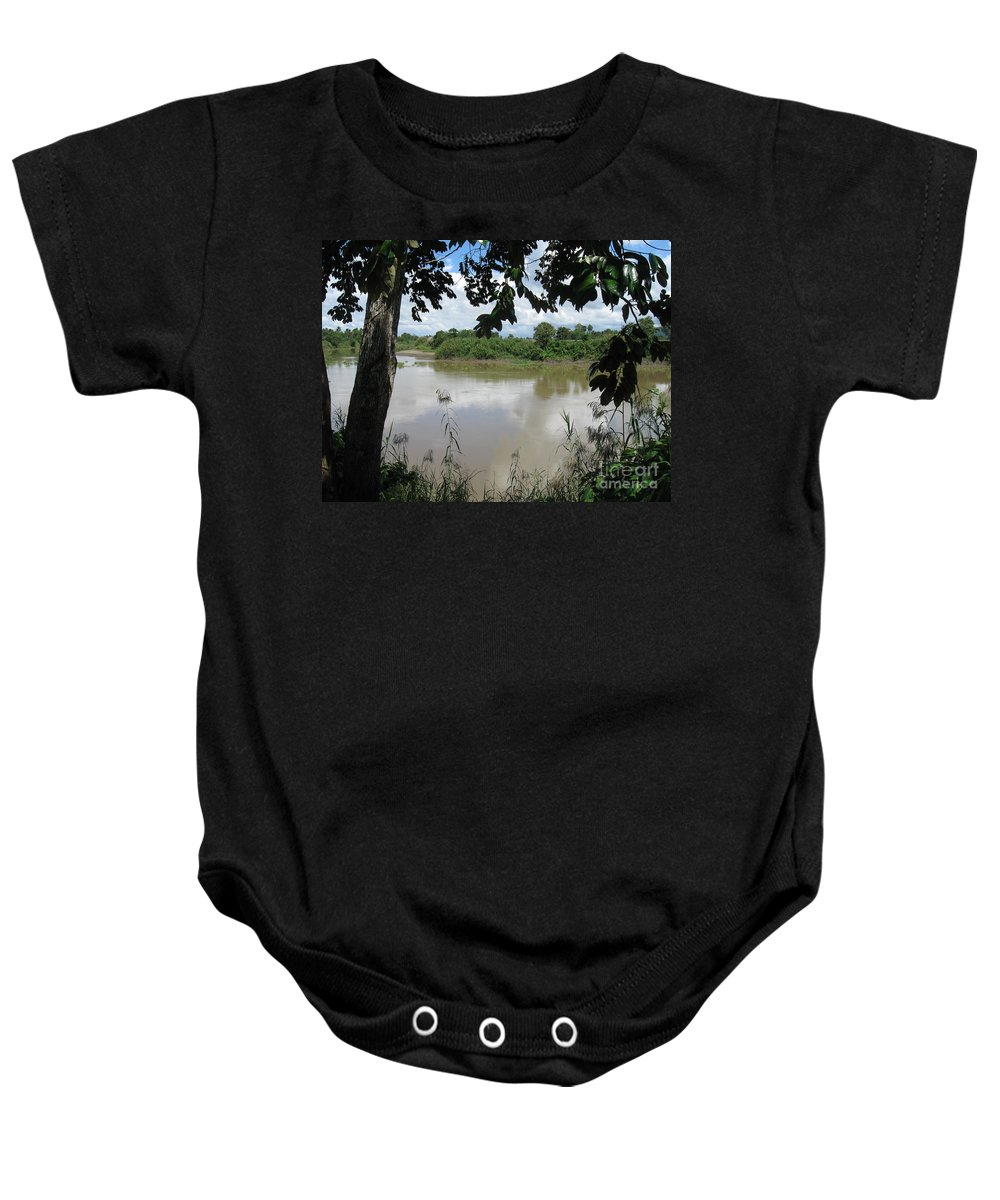 Photograph Baby Onesie featuring the photograph Agusan River Near Ja Pao by Roberto Prusso