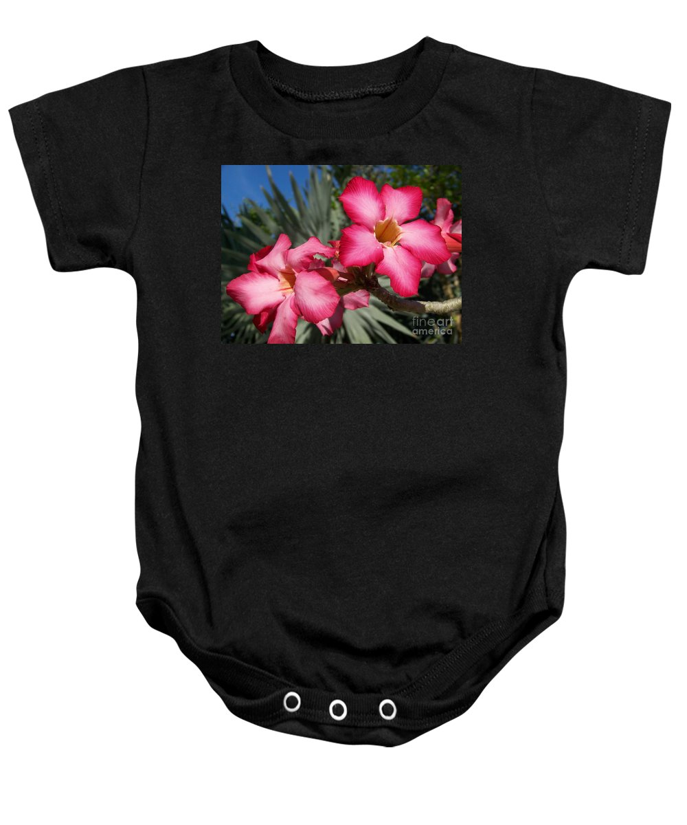 Glam Baby Onesie featuring the photograph All Glam'd Up by Greg Hammond