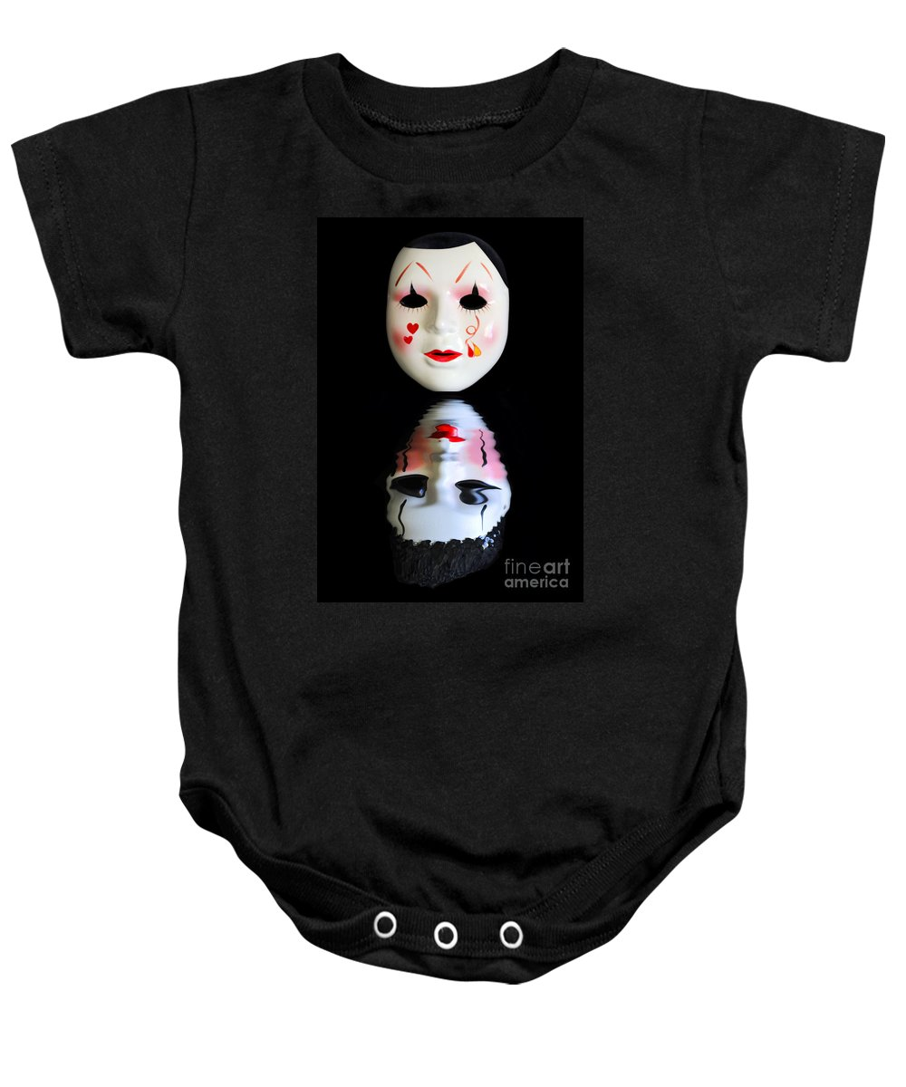Alter Ego Baby Onesie featuring the photograph Alter Ego II by Bruce Bain
