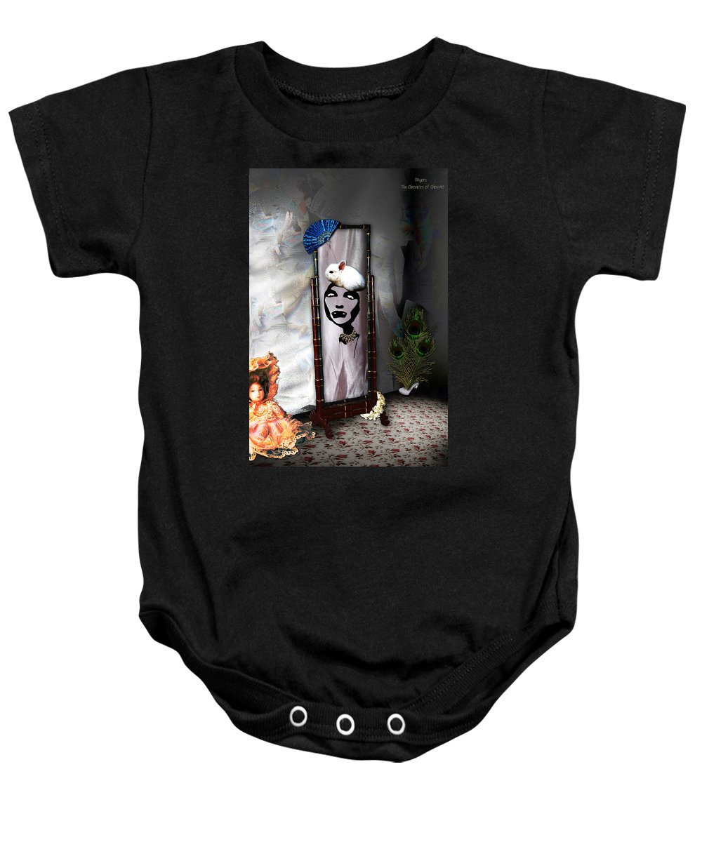 Photography Baby Onesie featuring the photograph Bad Hare Day by Paula Ayers