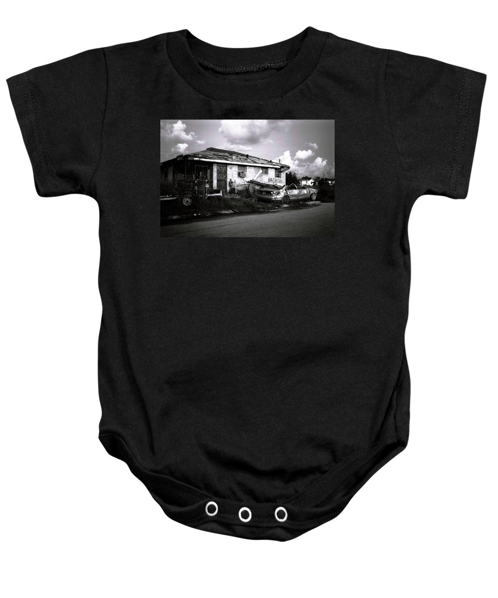 Louisiana Baby Onesie featuring the photograph Baghdad by Doug Duffey