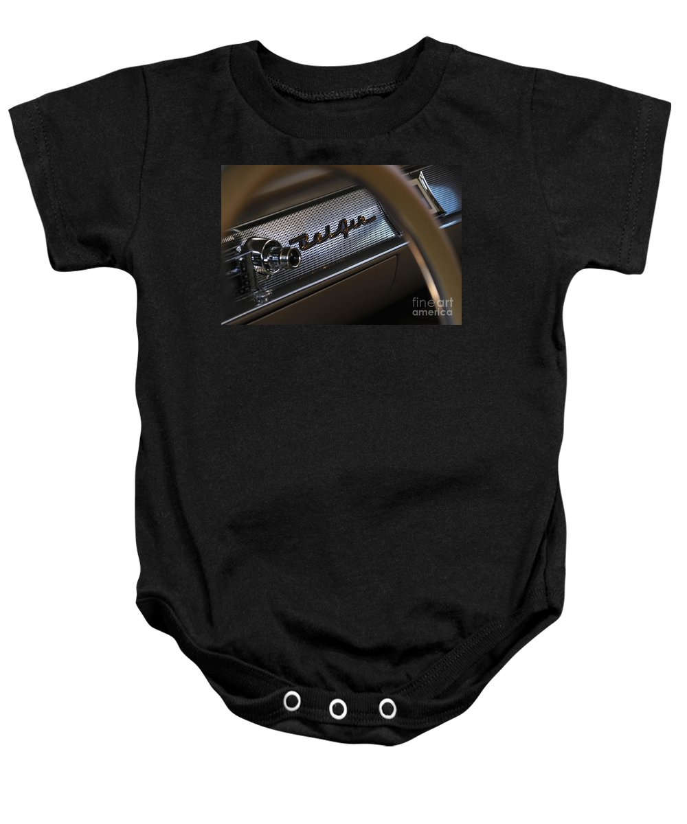 Classic Baby Onesie featuring the photograph Belair Dash by Dennis Hedberg
