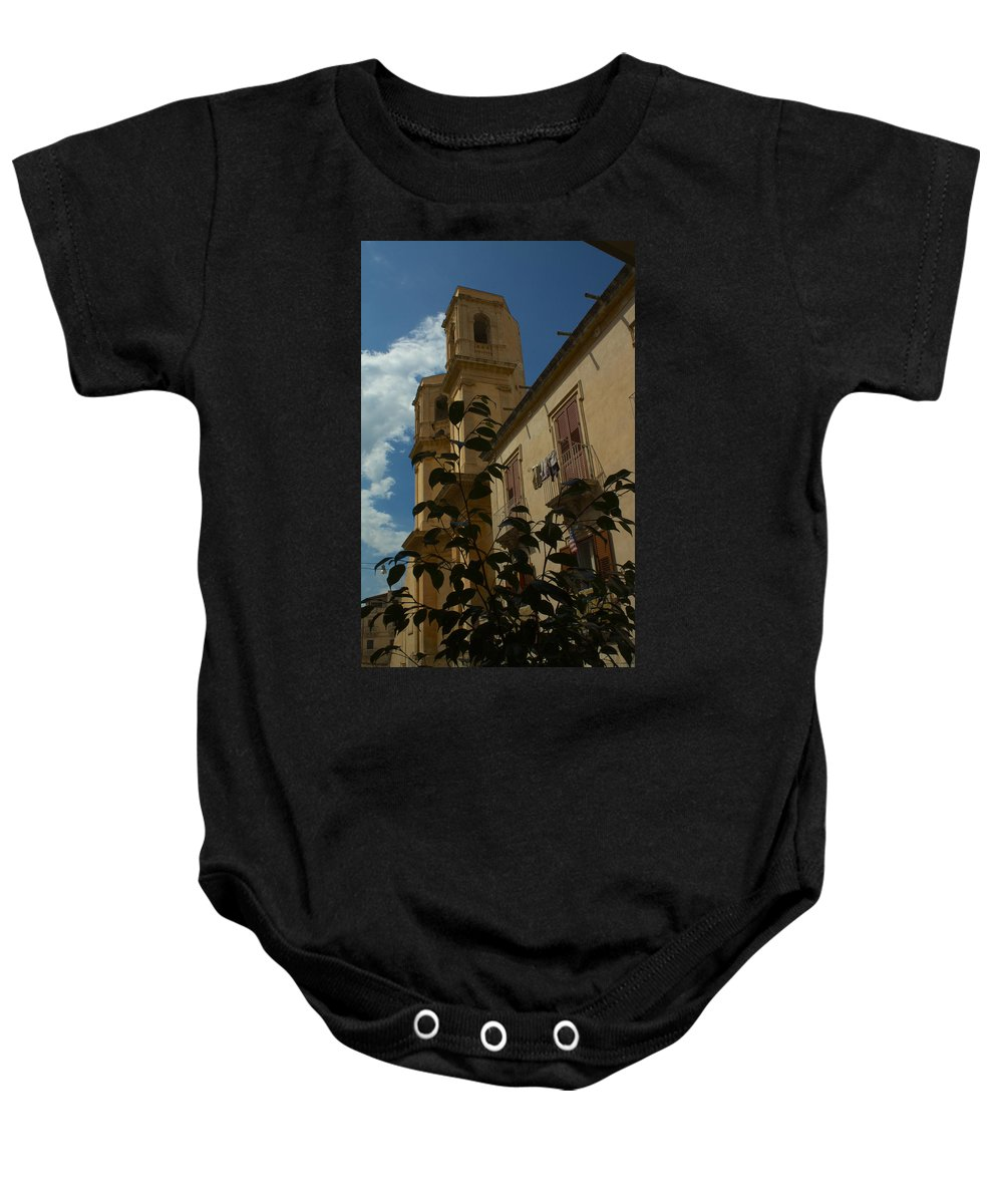 Italie Baby Onesie featuring the photograph Bla Bla by Donato Iannuzzi