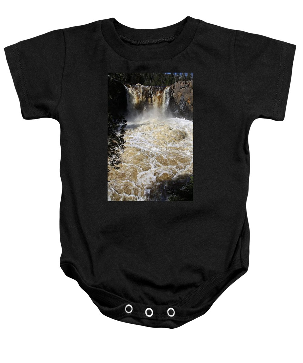 Baby Onesie featuring the photograph Boil by Joi Electa