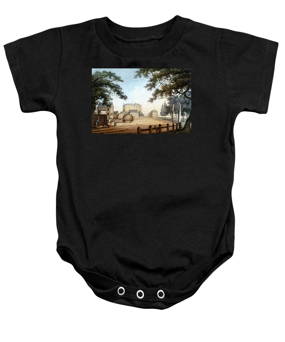 1798 Baby Onesie featuring the photograph Boston: Theater, 1798 by Granger