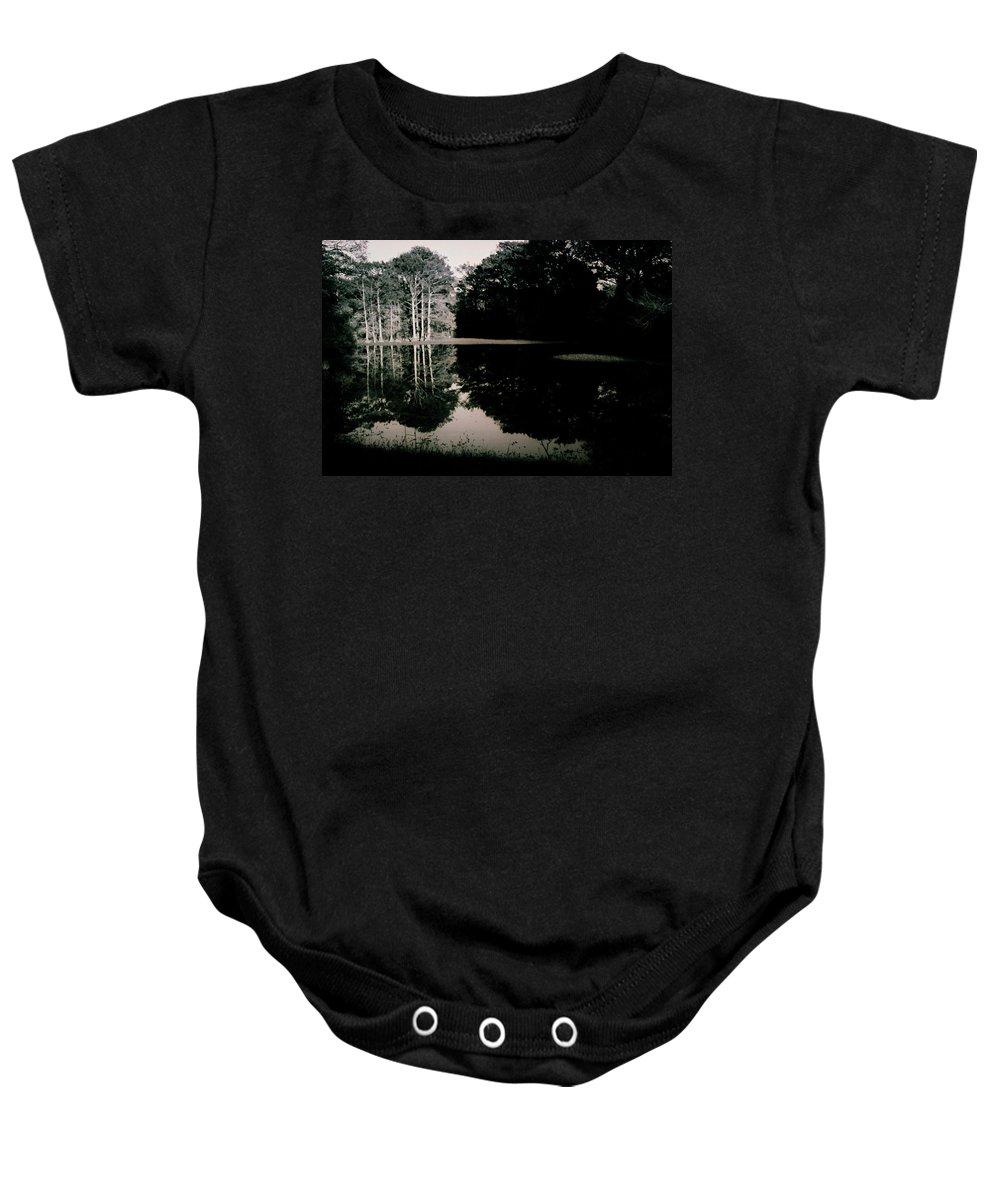 Louisiana Baby Onesie featuring the photograph Brake- La Hwy 165 by Doug Duffey