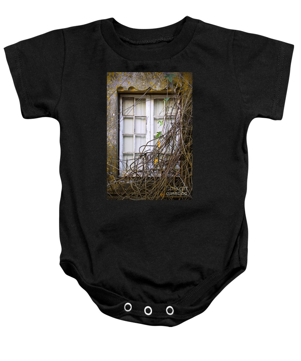 Autumn Baby Onesie featuring the photograph Branchy Window by Carlos Caetano