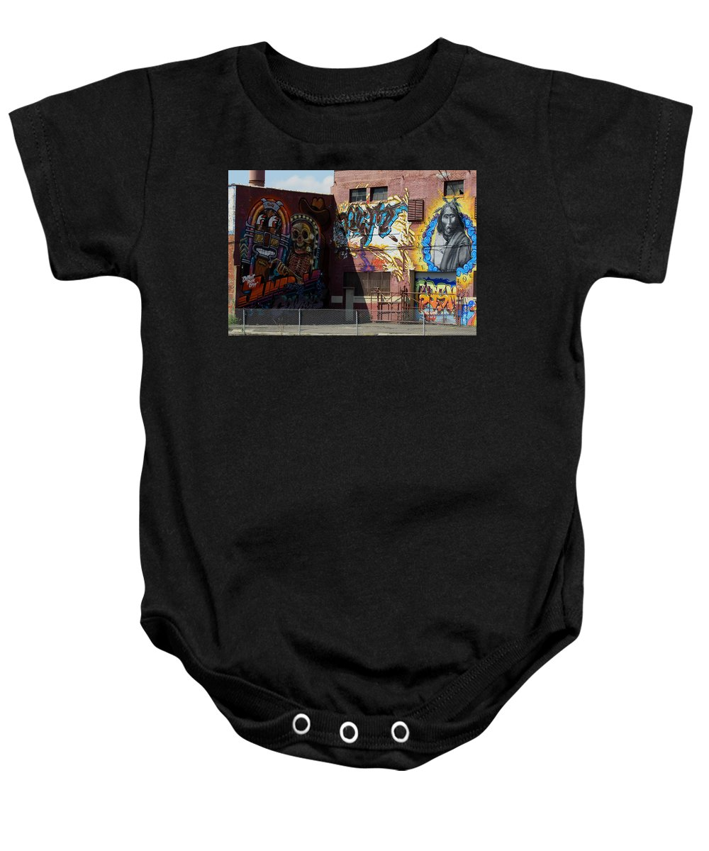 Landscape Baby Onesie featuring the photograph Building Of Art by Dennis Pintoski