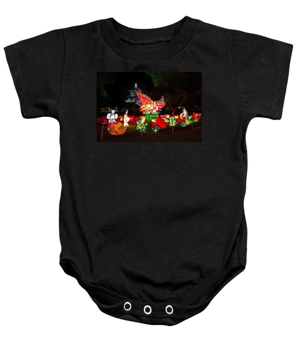 Art Baby Onesie featuring the photograph Butterfly Lovers by Semmick Photo