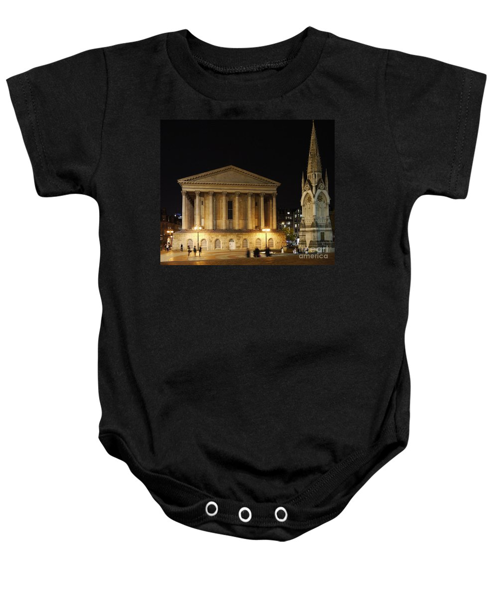 Chamberlain Baby Onesie featuring the photograph Chamberlain Square by John Chatterley