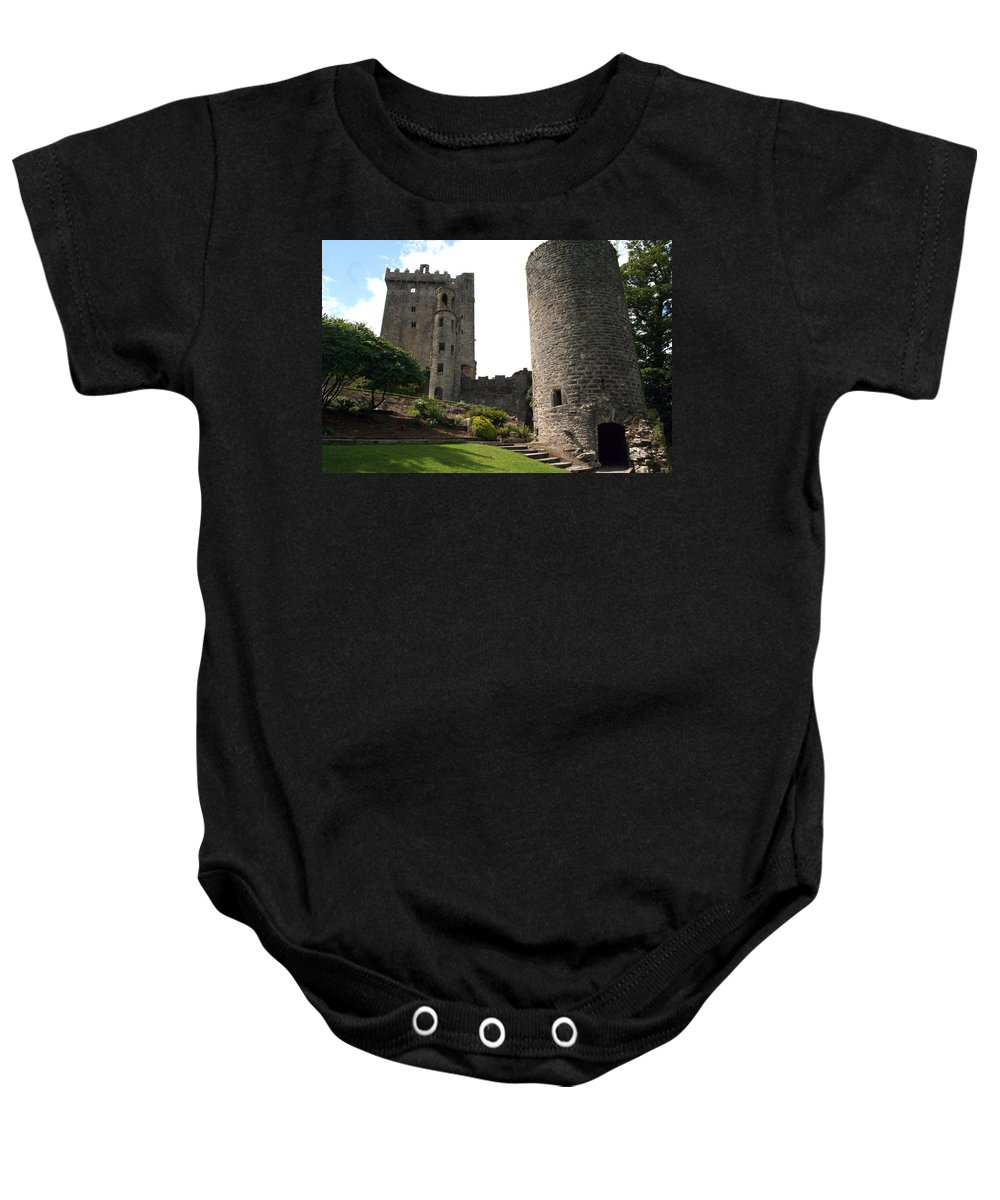 Blarney Castle Baby Onesie featuring the photograph City 0023 by Carol Ann Thomas