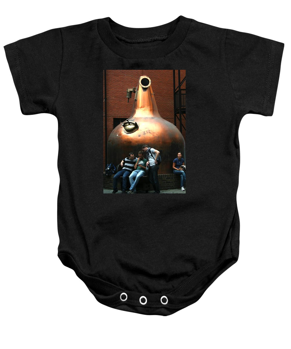 Jameson Baby Onesie featuring the photograph City 0026 by Carol Ann Thomas