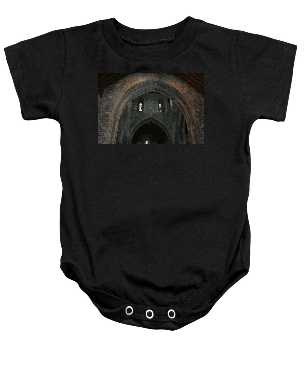 Ireland Baby Onesie featuring the photograph City 0031 by Carol Ann Thomas