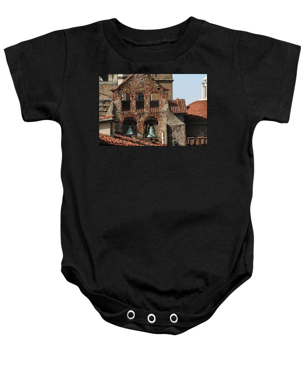 Florence Baby Onesie featuring the photograph City 0033 by Carol Ann Thomas