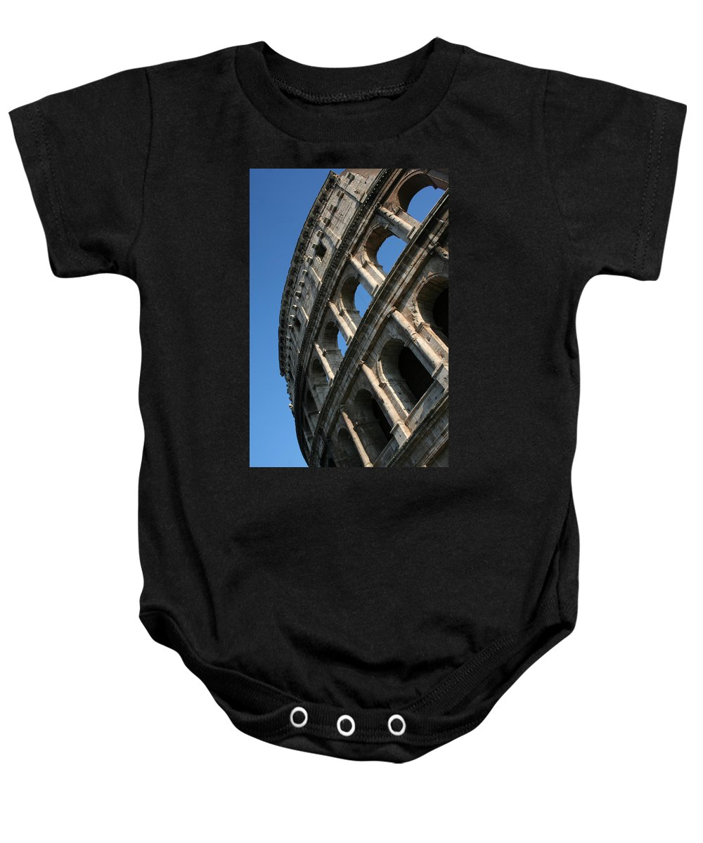 City Baby Onesie featuring the photograph City 0043 by Carol Ann Thomas