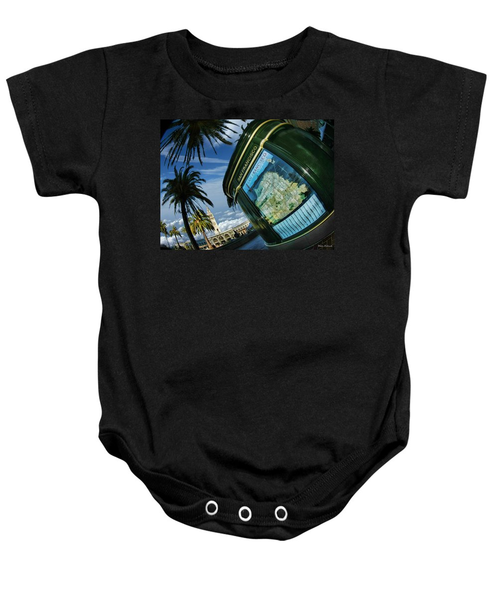 Art Photography Baby Onesie featuring the photograph City By The Bay by Blake Richards