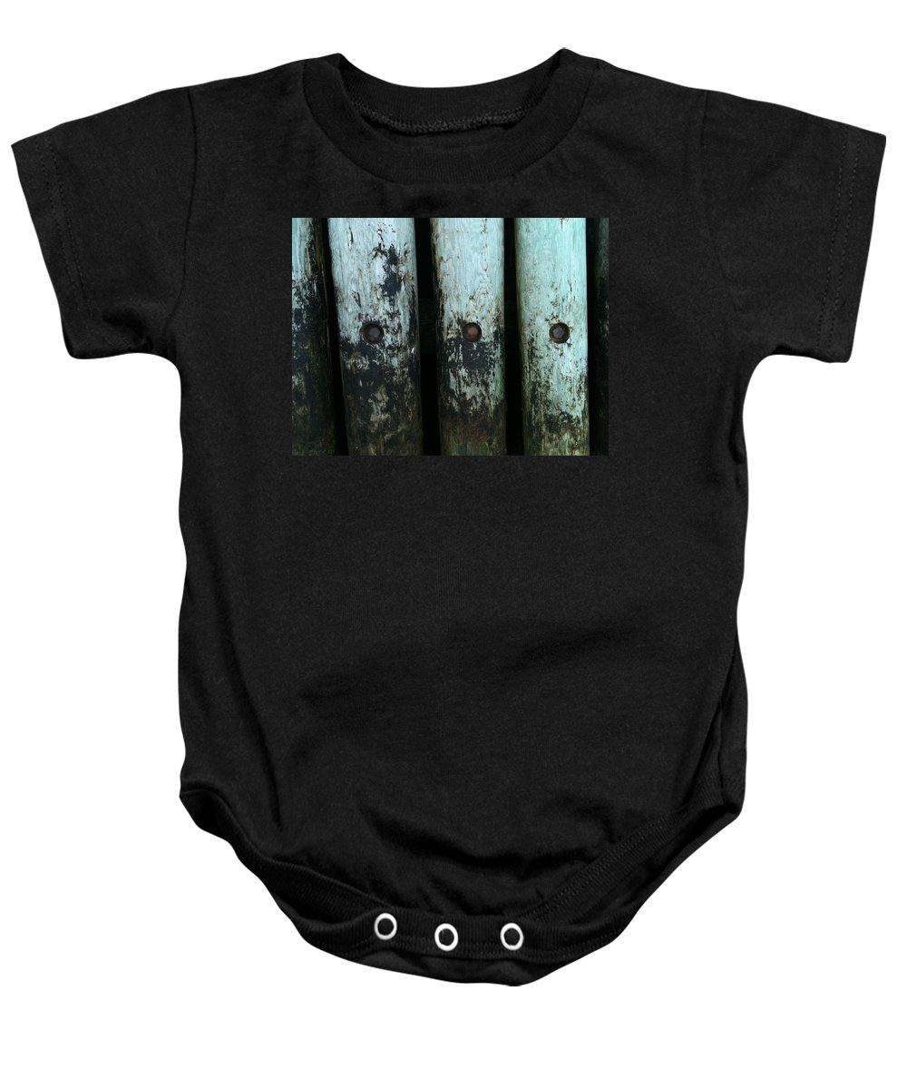 Pier Baby Onesie featuring the photograph Closeup Prince Edward Island by Valerie Nolan