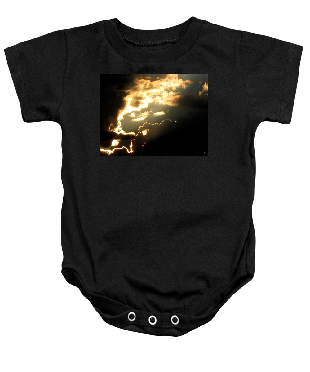 Sky Baby Onesie featuring the photograph Cloud Nine 12 by Will Borden