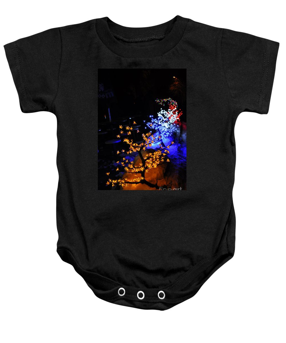 Light Baby Onesie featuring the photograph Color Berries by Anjanette Douglas