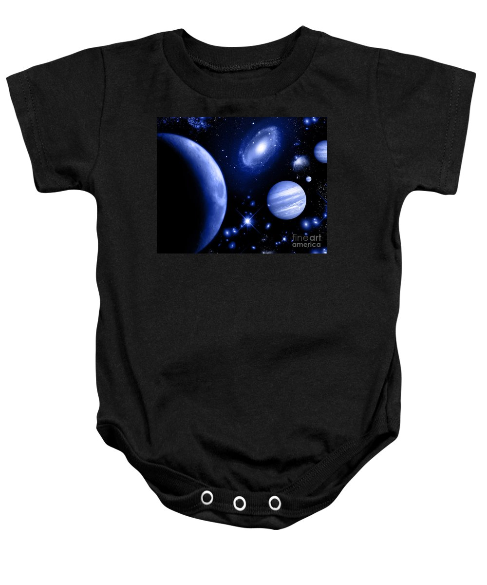 Baby Onesie featuring the digital art Cos 34 by Taylor Webb