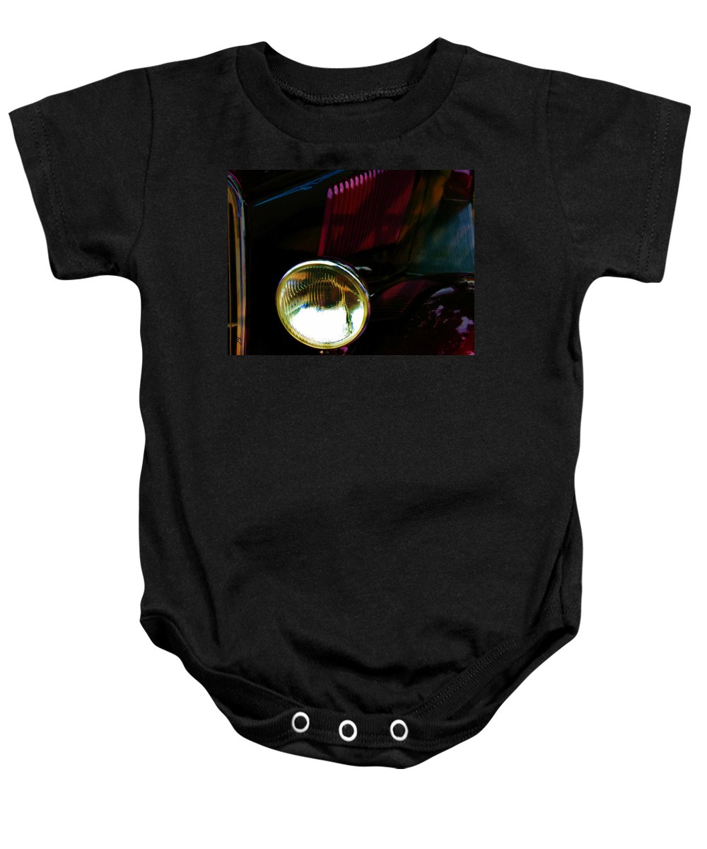 Car Baby Onesie featuring the photograph Cruising 2 by Adam Vance