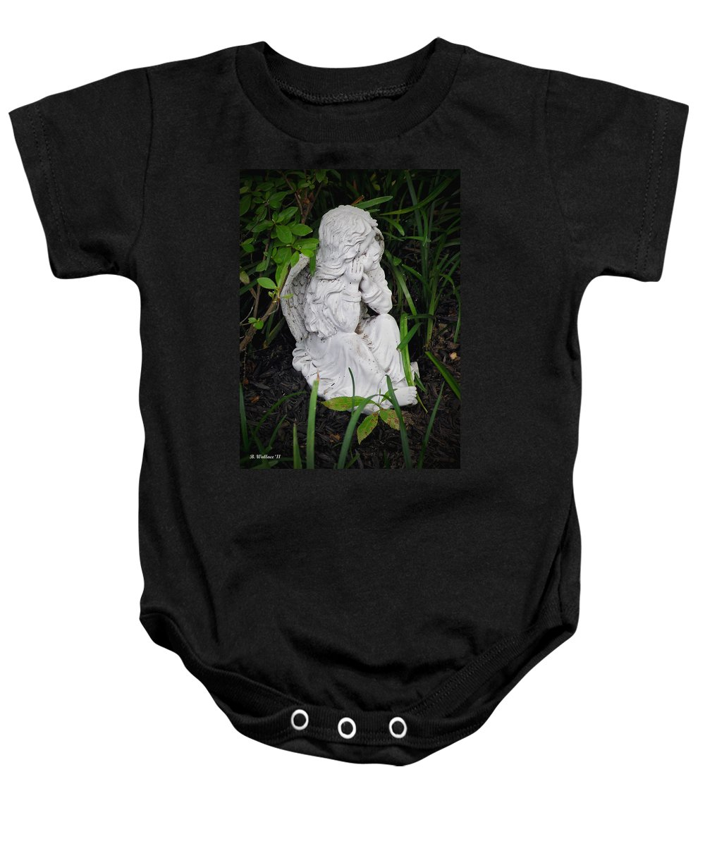 2d Baby Onesie featuring the photograph Dirty Little Angel by Brian Wallace