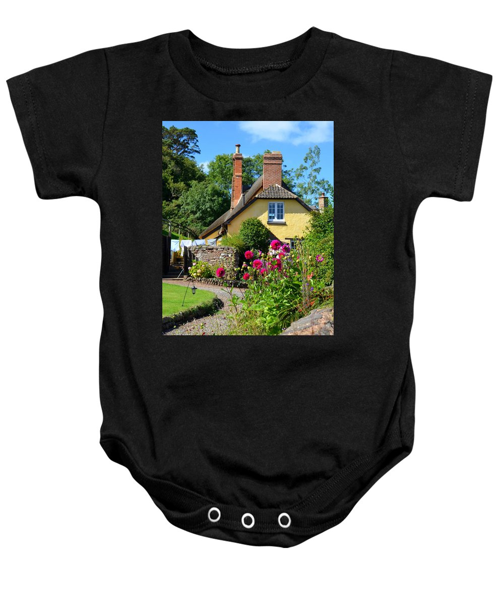 England Baby Onesie featuring the photograph Everyday Life In Somerset by Carla Parris