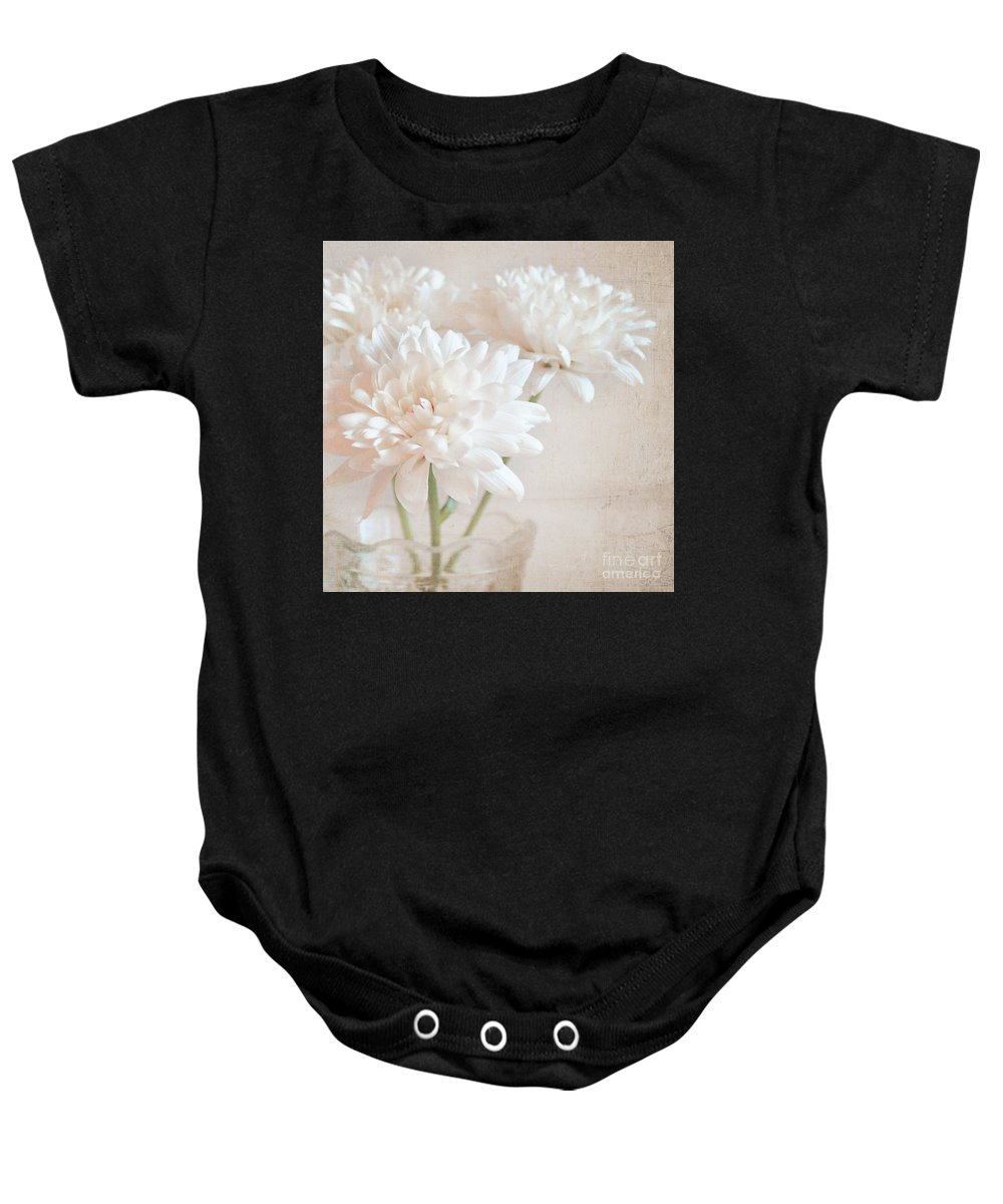 Flowers Baby Onesie featuring the photograph Fridays Fancy by Lyn Randle