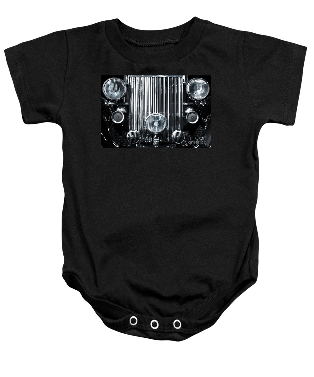 American Baby Onesie featuring the photograph Front Grid by Carlos Caetano